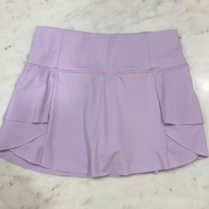 lavender Athleta Tennis skirt size xs.